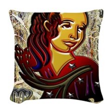 Virgo 16 x 20 Woven Throw Pillow