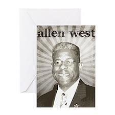 oct_allen_west Greeting Card