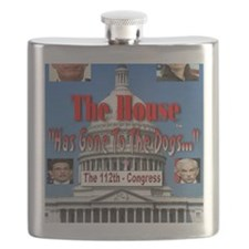 The House Has Gone To The Dogs Flask