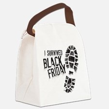 Black Friday Shirt Canvas Lunch Bag