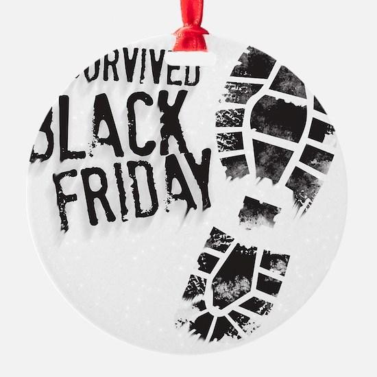 Black Friday Shirt Ornament