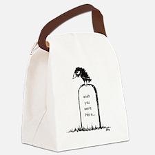 RayWishWrdPress2 Canvas Lunch Bag