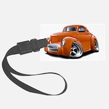 1941 Willys Orange Car Luggage Tag