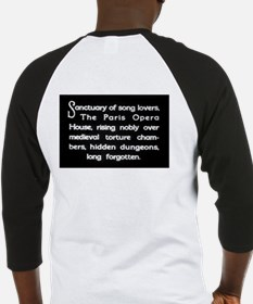 """""""Sanctuary of Song Lovers"""" Baseball Jersey"""