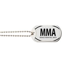 mma oval Dog Tags