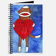 Sock Monkey Valentine by Step Journal