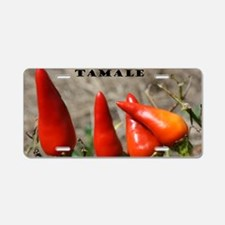 Hot Tamale Aluminum License Plate