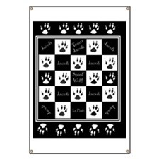 Jacob BW Blanket Banner