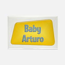 Baby Arturo Rectangle Magnet