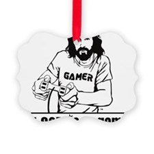 gamer-final Picture Ornament