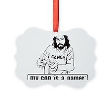gamer-final Picture Ornament