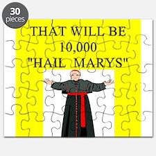 hail mary catholic humor Puzzle