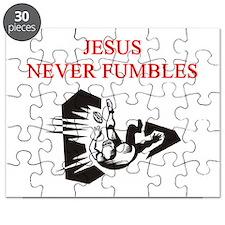 jesus football fumble joke Puzzle