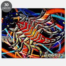 Scorpio Postcard Puzzle