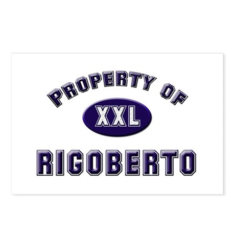 Property of rigoberto Postcards (Package of 8)