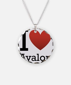avalon rectangle Necklace