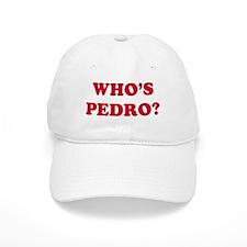 Who's Pedro Baseball Cap