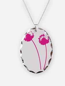 dandelion_pink_forcard Necklace