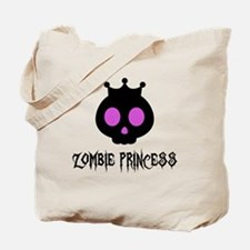 Skull Princess Tote Bag