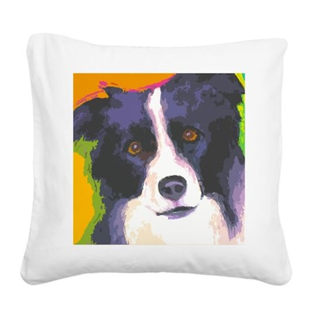 large bc cafe Square Canvas Pillow