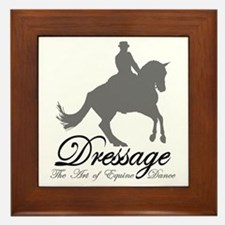 Dressage Dance Framed Tile