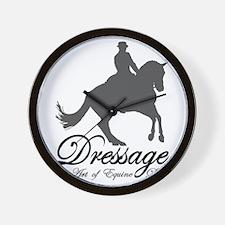 Dressage Dance Wall Clock