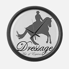 Dressage Dance Large Wall Clock