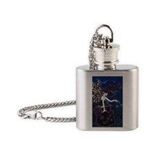 Night Weaver Flask Necklace