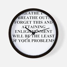 funny jewish joke wisdom Wall Clock
