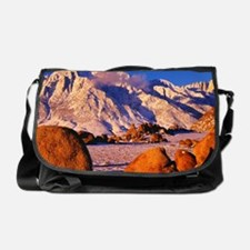California. Mt. Whitney and Lone Pin Messenger Bag