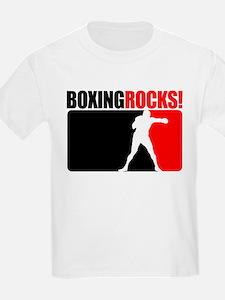 Boxing Rocks! Kids T-Shirt