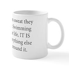 swim coach slogan copy Mug