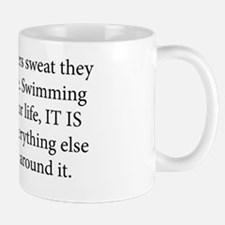 swim coach slogan copy Mug