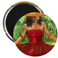 Red Dress_Live Love Laugh DANCE Magnet