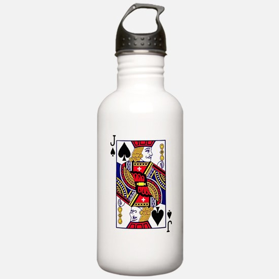 i4slidrjackofspaces Water Bottle