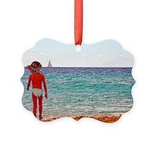 beach_girl by Blake Robson copy Ornament