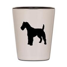 Fox Terrier.eps Shot Glass