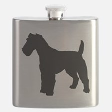 Fox Terrier.eps Flask