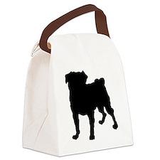 pug.eps Canvas Lunch Bag