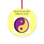 zen buddhism koan satori meditation tao Ornament (