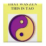 zen buddhism koan satori meditation tao Tile Coast