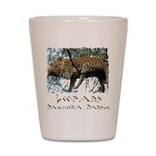 Leo Tree shirt Shot Glass