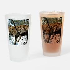 Leo Tree panel print Drinking Glass