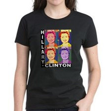 Hilary Pop Art Tee