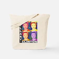 Hilary Pop Art Tote Bag