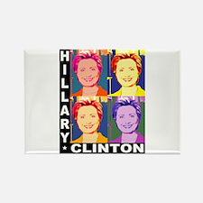 Hilary Pop Art Rectangle Magnet