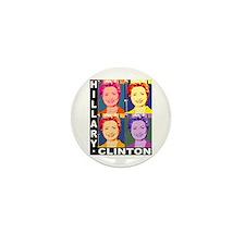 Hilary Pop Art Mini Button (10 pack)