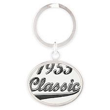 Classic 1955 Oval Keychain