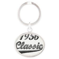 Classic 1956 Oval Keychain