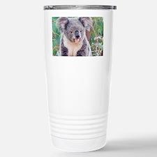 Koala Smile L print Travel Mug